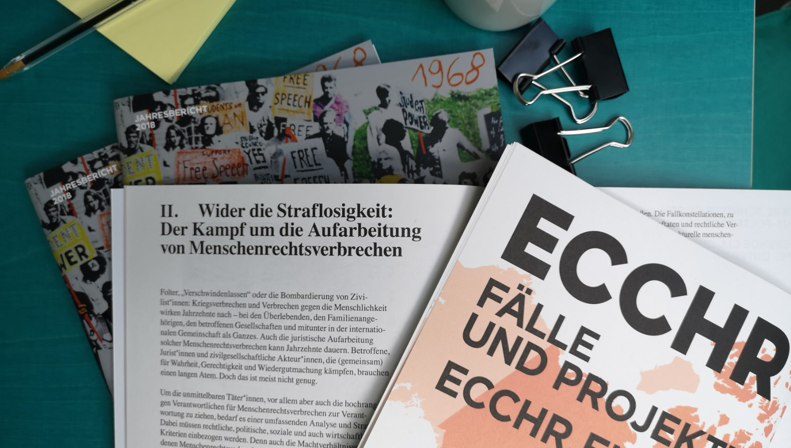 ECCHR Annual Report 2018