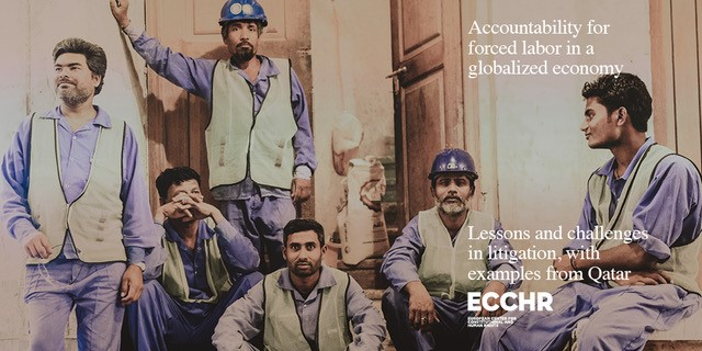 "Cover: ""Accountability for forced labor in a globalized economy"" © Foto: Anonym"