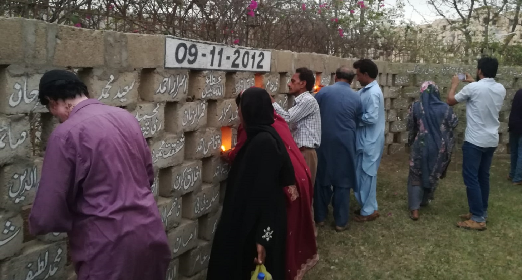 Anniversary of Baldia factory fire in Pakistan