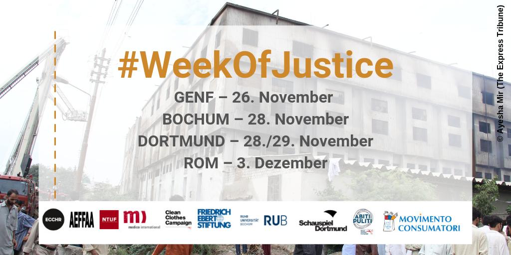 Eine Woche für Gerechtigkeit