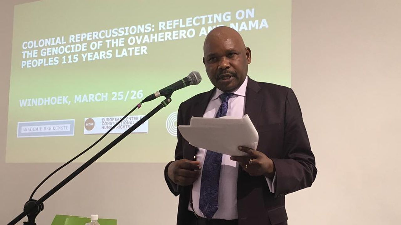 Colonial Repercussions: Makau Mutua, University at Buffalo © Photo: ECCHR