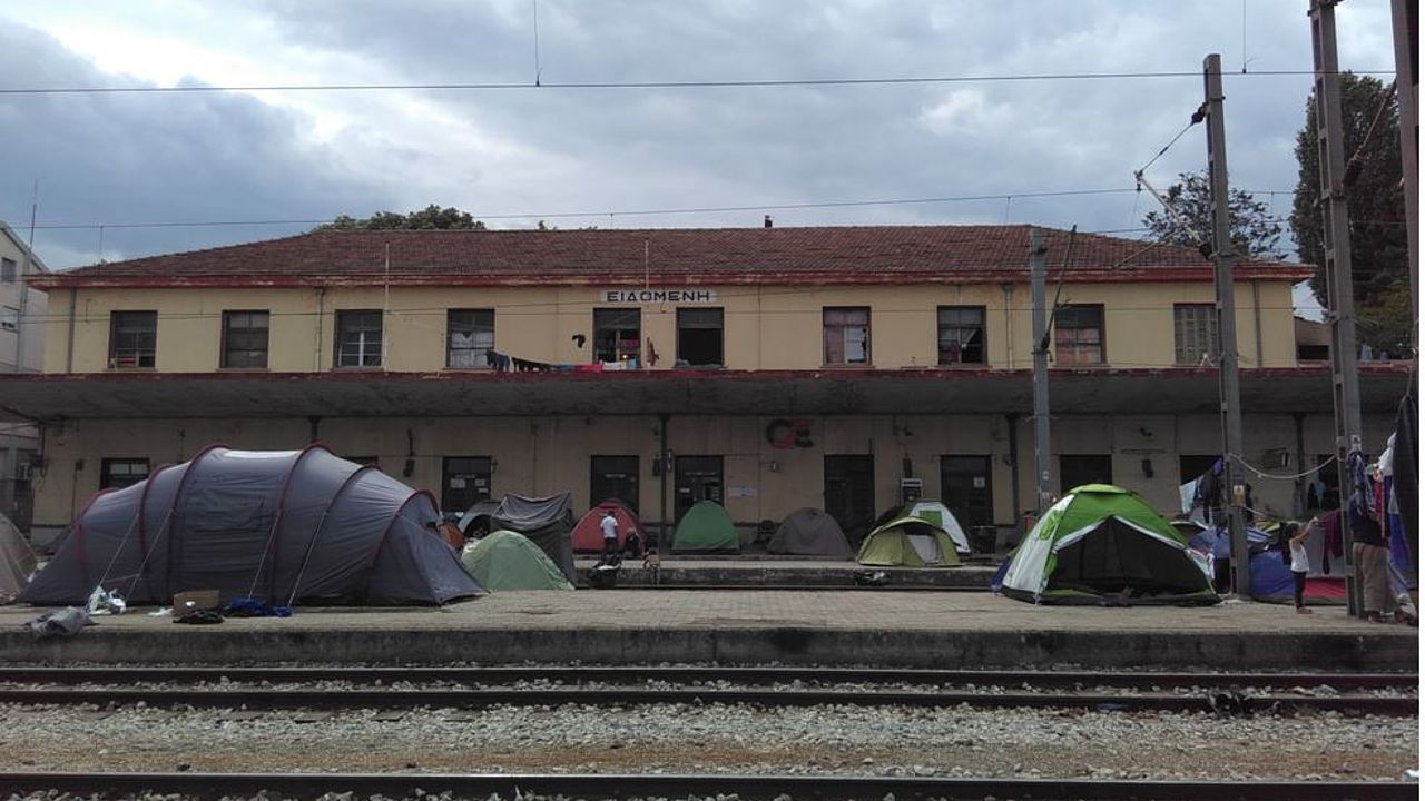 Idomeni train station © Photo: ECCHR/Vera Wriedt