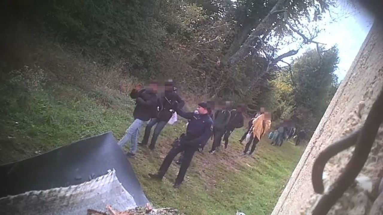 Push-Backs an der Grenze von Kroatien zu Bosnien-Herzegowina © Border Violence Monitoring Network