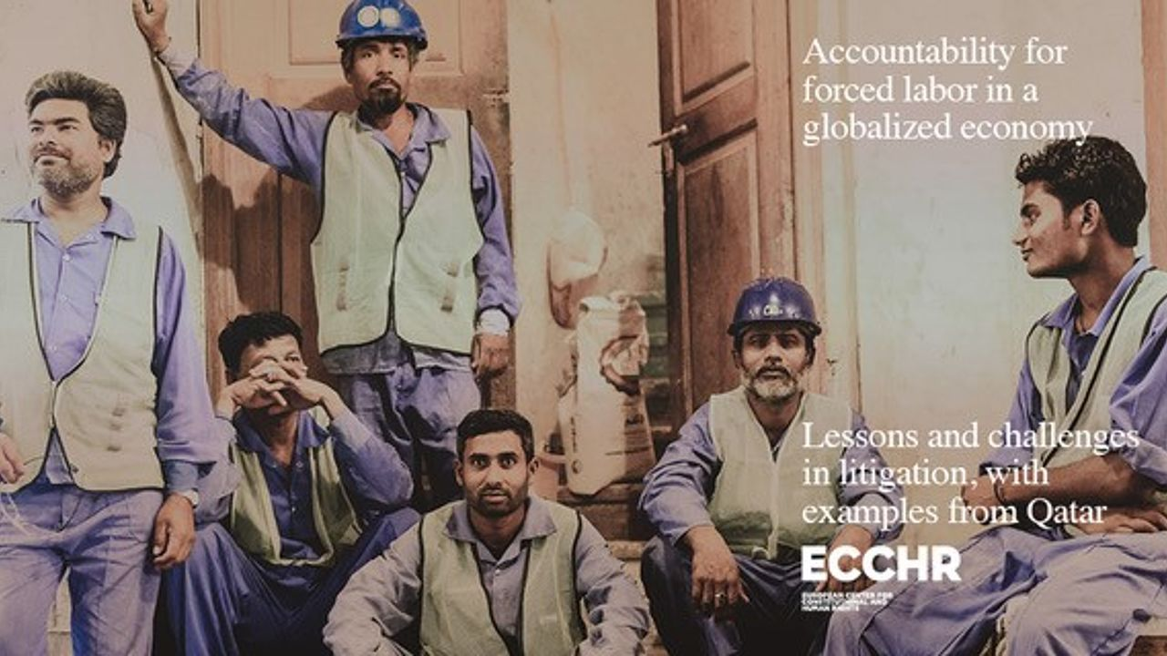 "Cover: ""Accountability for forced labor in a globalized economy"" © Photo: Anonymous"