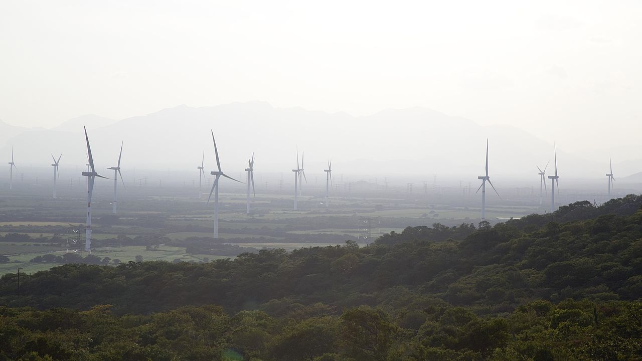 Windpark in Oaxaca, Mexiko © ProDESC