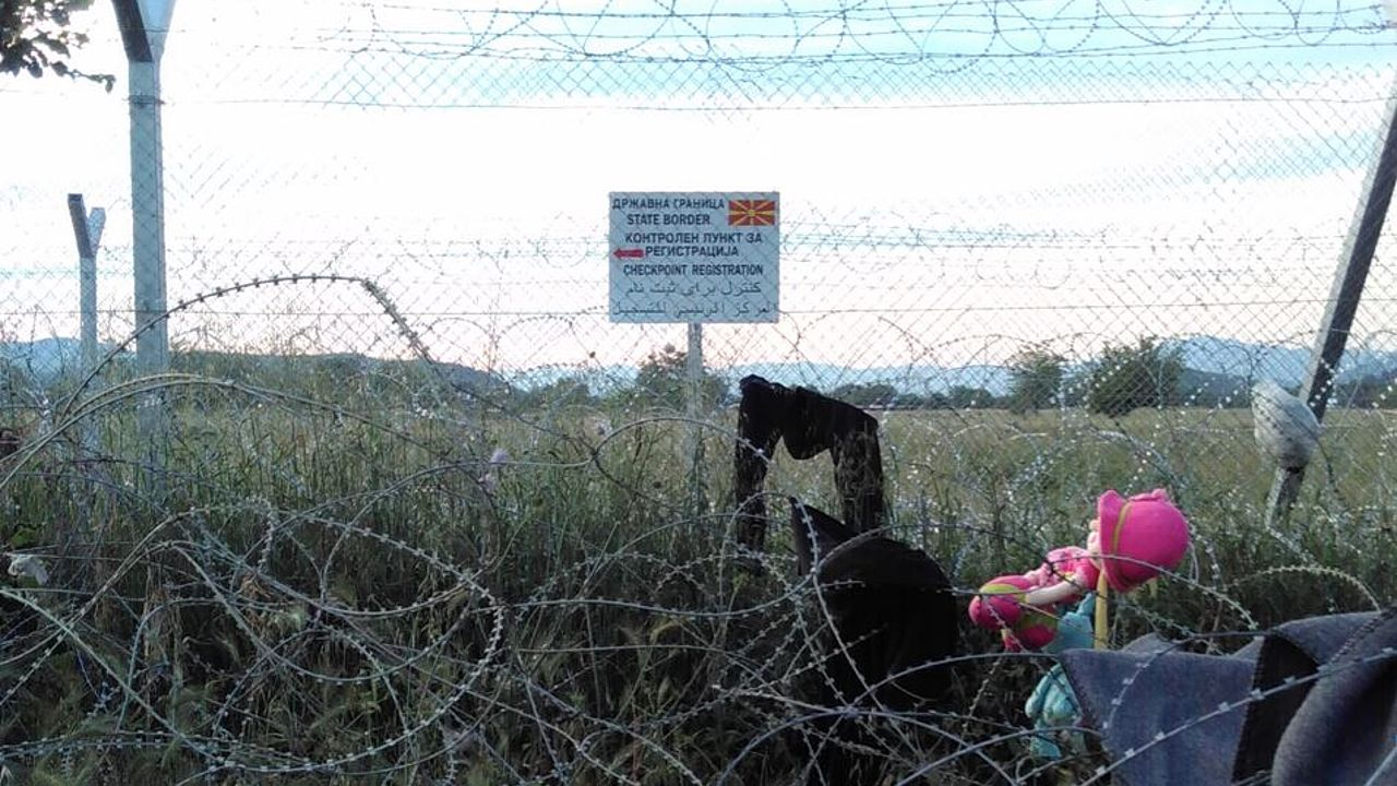 Macedonian-Greek border near Idomeni. © Photo: ECCHR/Vera Wriedt